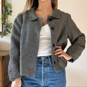 Banana republic cropped jacket
